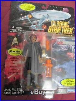 10 Star Trek Classic Movie Series-kirk Spock Chang Mccoy Kruge Saavik Khan Etc