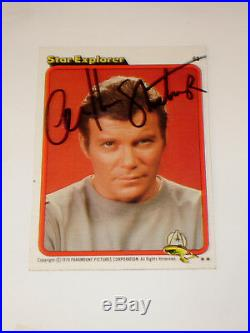 12 Signed Star Trek The Motion Picture Cards. Roddenberry And Cast Of 11