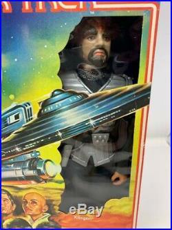 1979 Mego Star Trek The Motion Picture Action Figure 12 Inch Klingon Nib