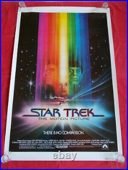 +++ 1979 STAR TREK The Motion Picture Original 1st Movie Poster