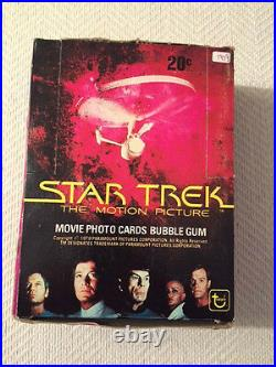 1979 Topps STAR TREK THE MOTION PICTURE Wax Box (36) SEALED Packs