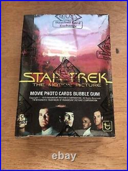 1979 Topps Star Trek The Motion Picture Wax Box 36 Packs BBCE Authenticated