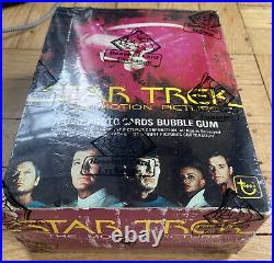 1979 Topps Star Trek The Motion Picture Wax Box 36 Packs BBCE Wrapped SEALED