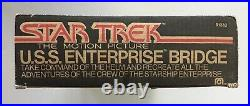 1980 Mego Star Trek Motion Picture USS Enterprise Bridge Playset STTMP Vintage