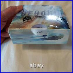 2017 Star Trek Beyond Movie Factory sealed trading card box 2 autograph/1 Relic