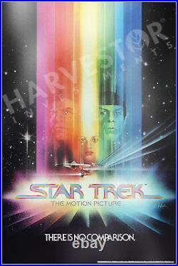 2018 Star Trek The Motion Picture Premium Silver Foil 35 Grams Silver Poster