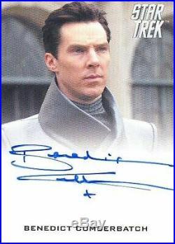 2019 Star Trek Inflexions Movie Autograph Card Benedict Cumberbatch As Khan RARE