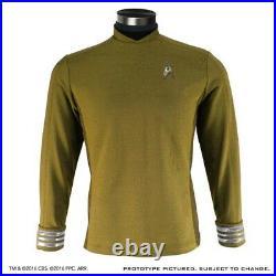 Anovos Star Trek Beyond Movie Gold Starfleet Command Crew Tunic Costume Prop (m)