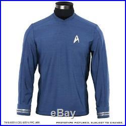 Anovos Star Trek Beyond Movie Starfleet Science Blue Crew Tunic Costume Prop (L)