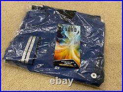 Anovos Star Trek Beyond Movie Starfleet Science Blue Crew Tunic Costume Prop (m)