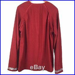 Anovos Star Trek Movie Spock Red Starfleet Science Crew Tunic Costume Prop XL