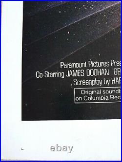 Authentic Original Rare Star Trek Motion Picture Movie Poster Advance 1sheet
