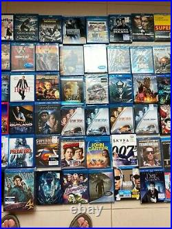 Big'Lot' of used Blu-Ray Movies. Harry Potter, Star Trek, Back to the Future