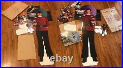Captain Kirk + Spock Star Trek V Full Size Movie Advertising Displays Very Cool