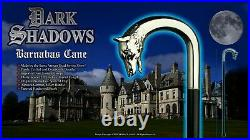 Dark Shadows Wolf Head Cane Tv Movie Prop Jonathan Frid Barnabas Trek Halloween