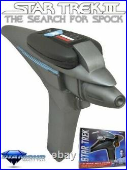 Diamond Select Toys Star Trek III Electronic Movie Phaser Brand New and In Stock
