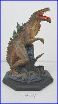 Earth Trek Godzilla / Movie Released In 1998 3D Works Statue Serial No. Yes