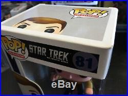 Funko Pop Movie Star Trek Captain Kirk 81 Rare New