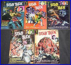 Gold Key Silver-Bronze Age STAR TREK 40pc Count Mid Grade Comic Lot VF TV Movie