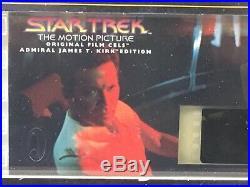 HUGE LOT of 16 STAR TREK Movie THE MOTION PICTURE 70mm ORIGINAL FILM CEL Cell
