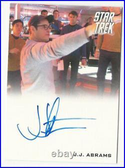 J. J. Abrams Director 2009 Star Trek XI Movie Autograph Card Auto VERY Rare