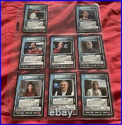 James Kirk 56 UR Gem Mint Pop 1 + Star Trek CCG TMP MOTION PICTURES Set 134 Card