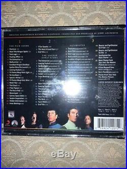 Jerry Goldsmith Star Trek The Motion Picture Soundtrack 3 CD Set Le La La Land