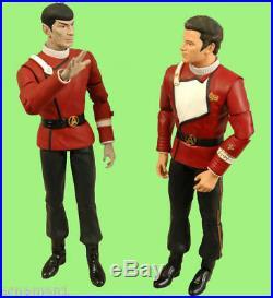 Kirk + Spock in Movie Unfiorm STAR TREK II 2 pack Action Figuren Rarität ovp