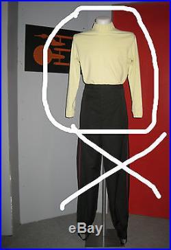 L Uniform Shirt Captain Star Trek Movie Monster Maroon ST. II VI