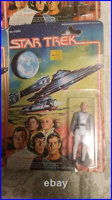 Lot 6 Vintage Mego STAR TREK 1979 MOTION PICTURE MIP Kirk Spock McCoy Decker
