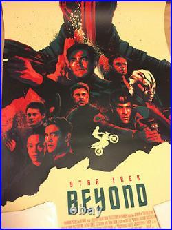 Matt Taylor Star Trek Beyond Movie Art Print Poster Matt Taylor signed AP