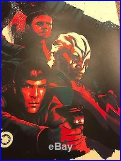 Matt Taylor Star Trek Beyond Movie Art Print Poster Mondo Spock Kirk Uhura Bones
