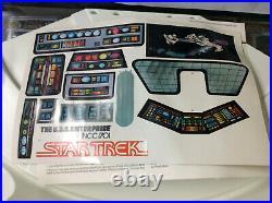 Mego 1980 Star Trek The Motion Picture Enterprise Bridge Playset With Box Rare