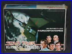 Mego Star Trek 1979 The Motion Picture Klingon Cruiser Airfix Lion Rock German