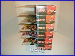 Mego Star Trek Motion Picture 12 Action Figure Complete Set X6 MIB 1979
