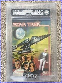 Mego Star Trek Motion Picture (1980) Lt. Ilia Figure AFA Graded 80+ NM 80/80/85