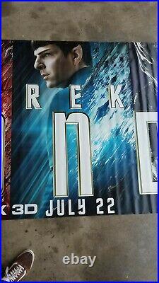 Original Star Trek Beyond 15Ft X 4Ft Movie Theater Vinyl BANNER Poster