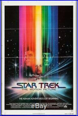 Original Vintage Movie Poster Star Trekthe Motion Picture(paramount, 1979)