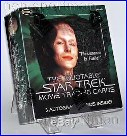 Quotable Star Trek Movie Factory Sealed Box (24 Packs)