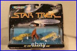 RARE Star Trek Micro Machines XV Sisko's Bajoran Sailing Vessel Obsidian Karemma