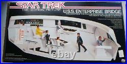 Rare 1980 Mego Star Trek Motion Picture Enterprise Bridge Playset