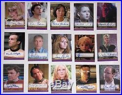 Rittenhouse Star Trek Inflexions Movie Auto Autograph Card Lot Set (15)