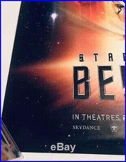 STAR TREK BEYOND 2016 Original DS Sided 27x40 Movie Poster RARE Limited 1000