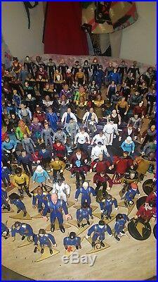STAR TREK CUSTOM Lot of 7 IN BOX GENERATIONS MOVIE ACTION FIGURES
