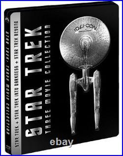 STAR TREK I-XIII STEELBOOK EDITION 13 FILM COLLECTION (13 BLU-RAY + Gadget)
