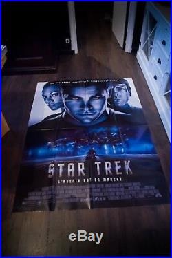 STAR TREK J. J. Abrahams 4x6 ft French Grande Movie Poster Original 2009