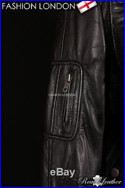 STAR TREK Men's Film Movies Leather Jacket Black Soft Lambskin Jacket 2438