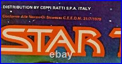 STAR TREK Motion Picture RIGELLIAN ACTION FIGURE by Mego RARE Italy 1979