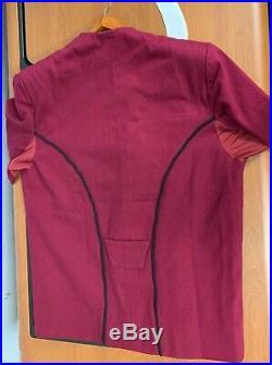 STAR TREK Movie II-VI Maroon Captains Uniform Jacket Replica
