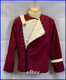 STAR TREK Movie II-VI Maroon Captains Uniform Jacket + Undershirt Replica